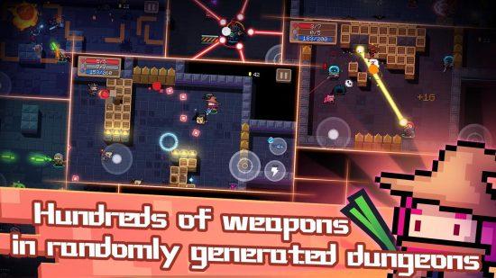 تحميل لعبة قتال بالاسلحة جديدة للاندرويد Soul Knight