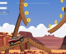 تحميل لعبة قيادة السيارة الوحش Monster Car Stunts
