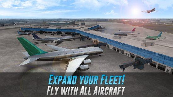 تحميل لعبة محاكاة الطيران للاندرويد Airline Commander