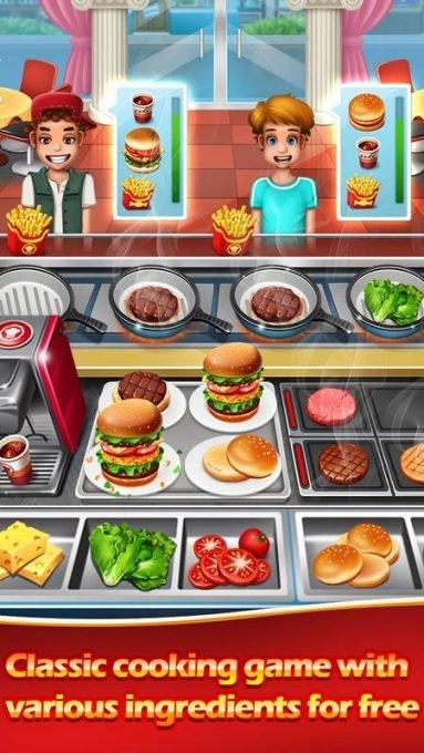 تحميل لعبة المطعم والزبائن للموبايل Cooking Chef