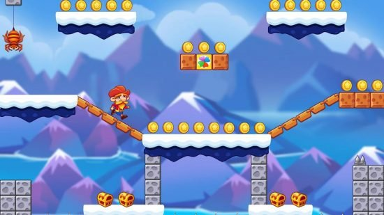 تحميل افضل لعبة مغامرات للاندرويد Super Jabber Jump 3