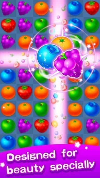 تحميل لعبة الفواكه للاندرويد Fruit Puzzle - Link Line
