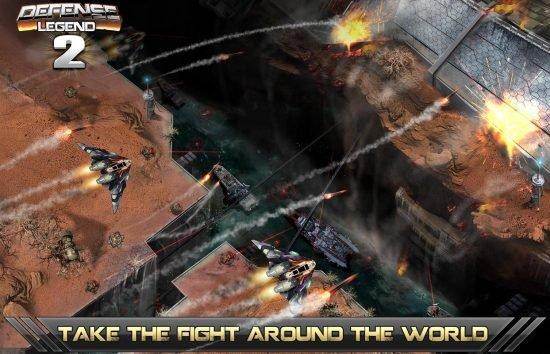 تحميل لعبة برج الدفاع للاندرويد مجانا Tower defense-Defense legend 2