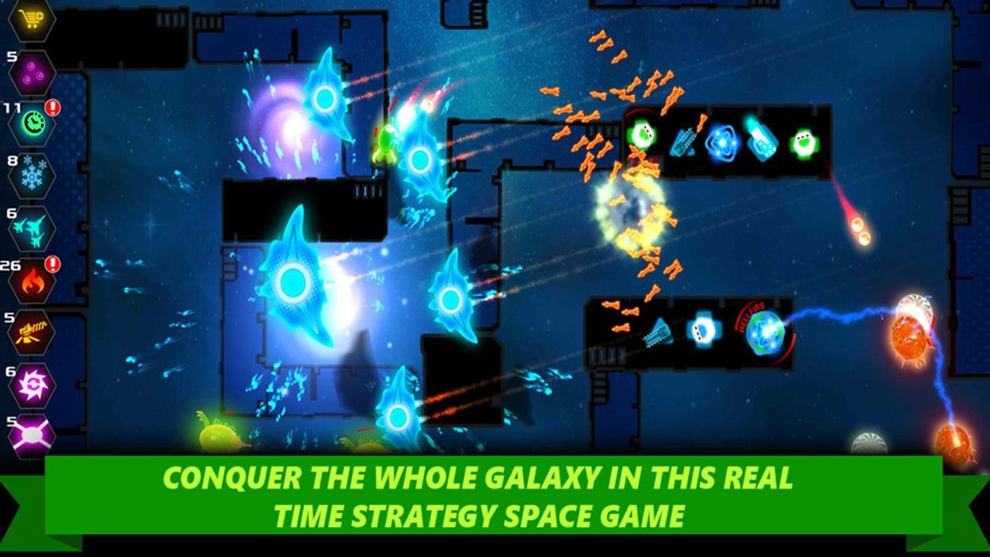 تحميل لعبة الدفاع الفضاء للكمبيوتر Strategy – Galaxy glow defense