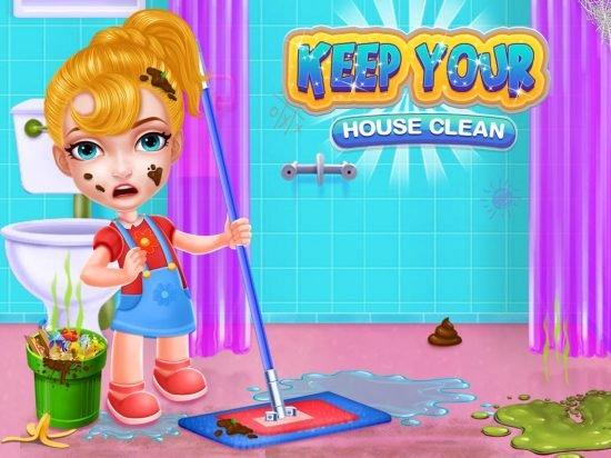تحميل لعبة تنظيف المنزل للاندرويد Keep Your House Clean