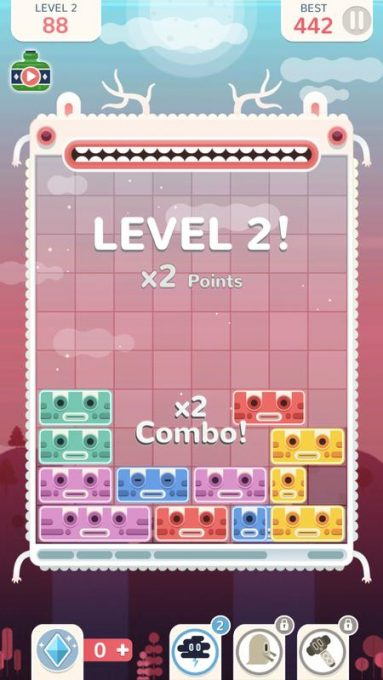 تحميل لعبة الغاز خفيفة Slidey Block Puzzle