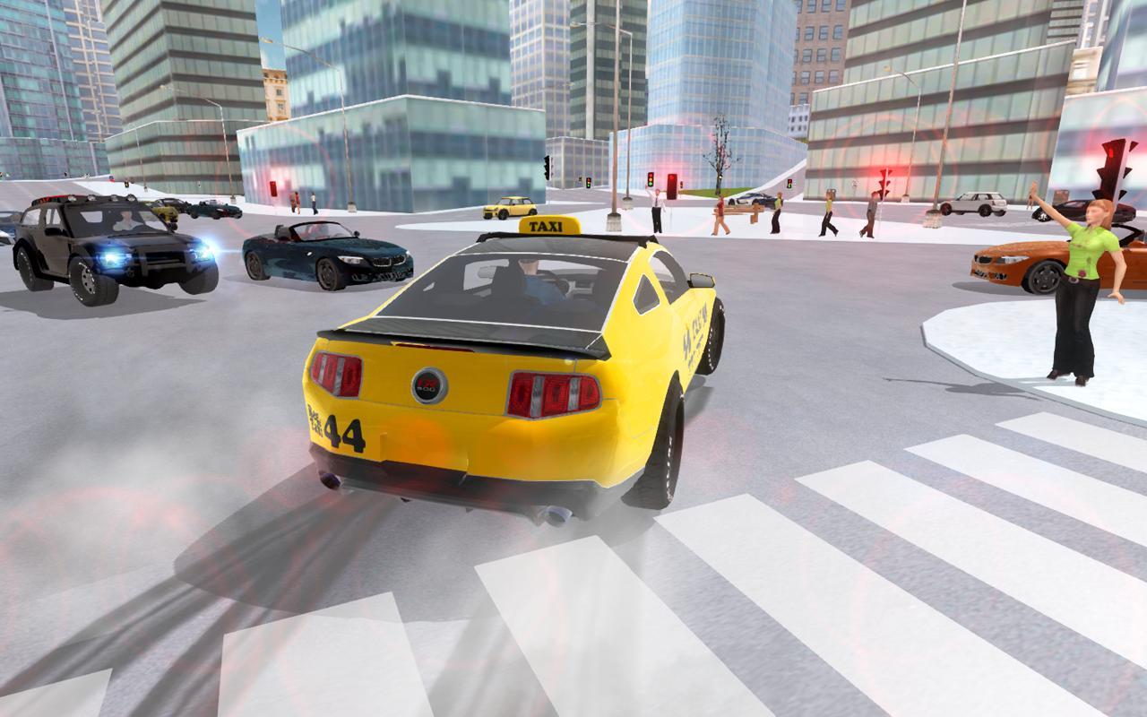 تحميل لعبة قيادة سيارة الاجرة للاندرويد City Taxi Cab Driving Simulator