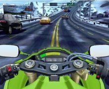 تحميل لعبة دراجات نارية للاندرويد برابط مباشر Moto Rider GO