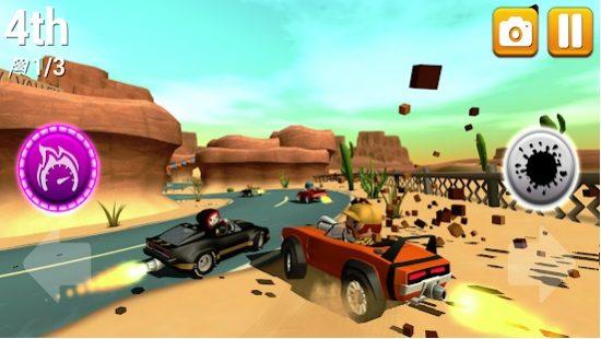 تحميل لعبة السيارات القتالية الحربية للاندرويد Rev Heads Rally