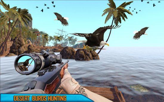 Desert Birds Hunting Shooting