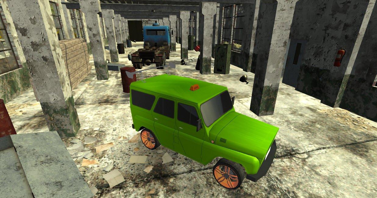 تحميل لعبة محاكاة القيادة للكمبيوتر برابط مباشر Russian UAZ 4x4 Driving Simulator