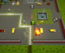 تحميل العاب حرب الدبابات مجانا للكمبيوتر Voxel Tanks Survival
