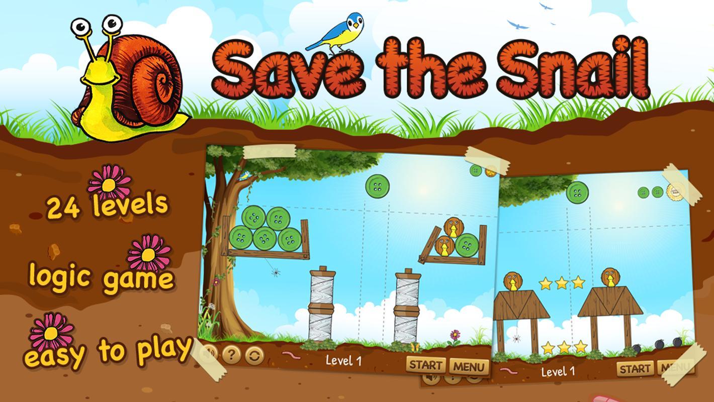 تحميل لعبة مغامرات الحلزون مجانا كاملة Save the Snail