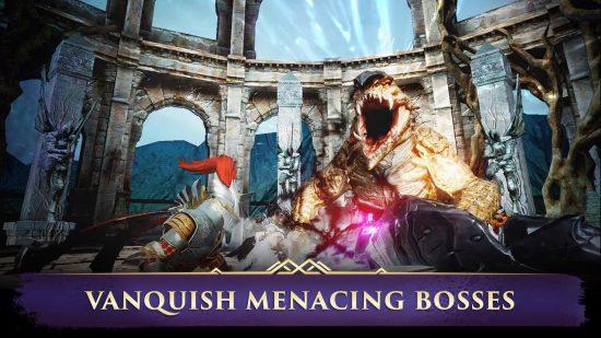 تحميل لعبة حرب الملوك الاسطورية للاندرويد Darkness Rises
