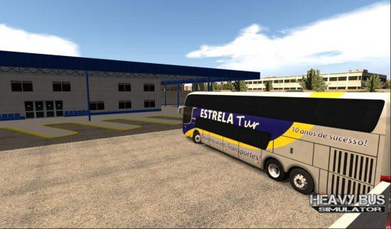 تحميل لعبة الباص للاندرويد Heavy Bus Simulator