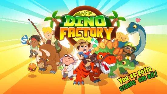 تحميل لعبة ملك الديناصورات برابط واحد Dino Factory