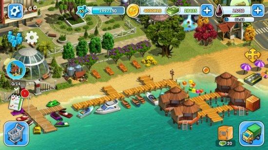 تحميل لعبة عالم الاحلام المزرعة والمدينة Eco City