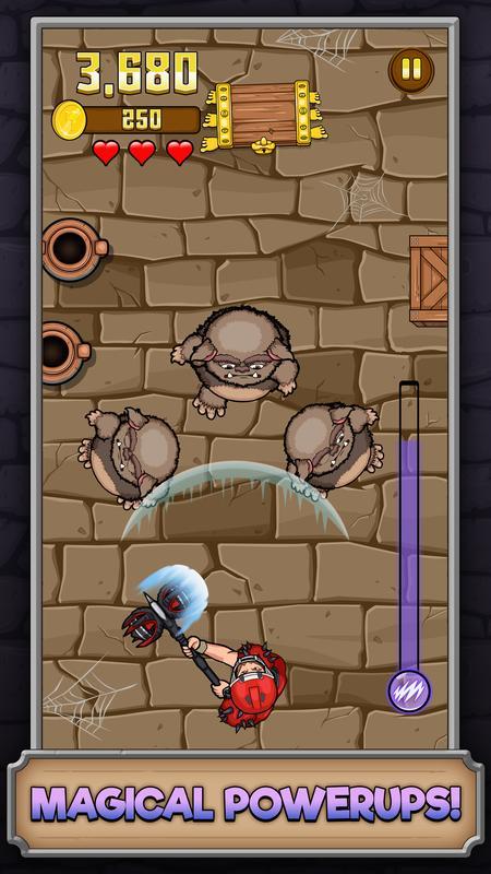 تحميل لعبة زومبى جديدة اندرويد Monster Hammer