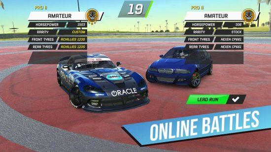 تحميل لعبة سيارات احترافية وصعبه Torque Drift