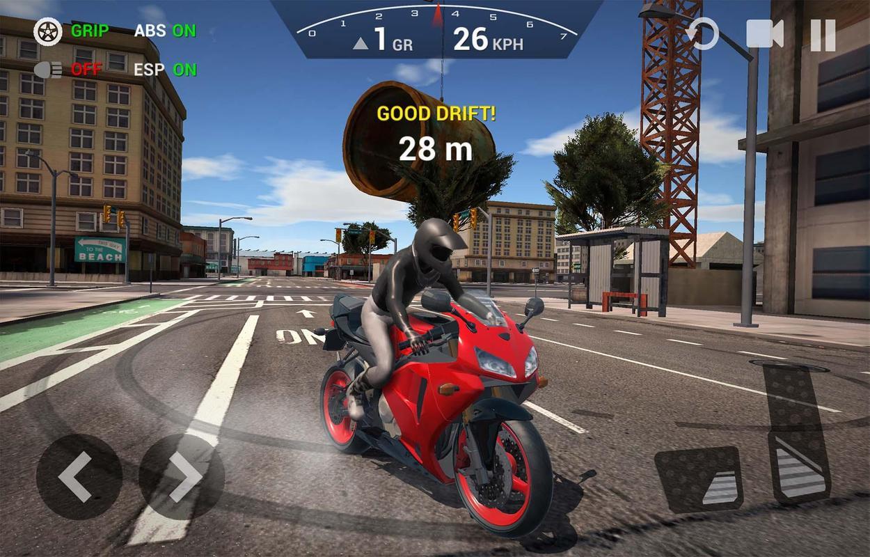 تحميل لعبة دراجة نارية للاندرويد مجانا من رابط مباشر