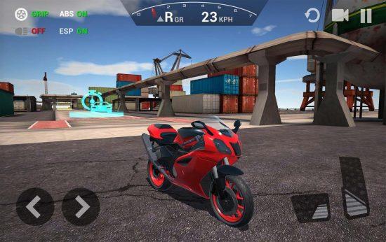 تحميل لعبة دراجة نارية للاندرويد مجانا من رابط مباشر Ultimate Motorcycle Simulator