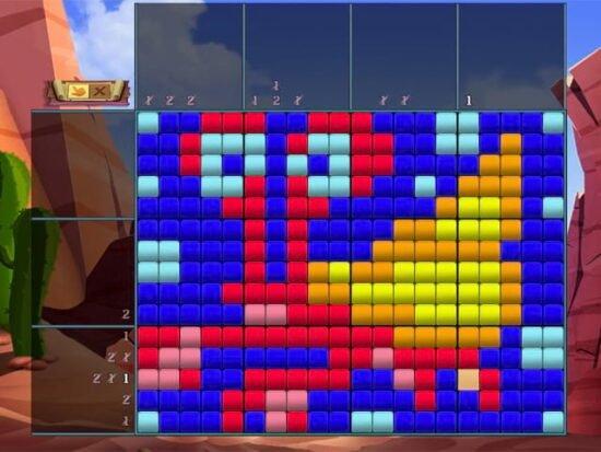 لعبه مغامرات ذكاء للكمبيوتر Adventure Mosaics 2