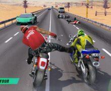 تحميل لعبة الدراجات النارية المقاتلة Bike Attack