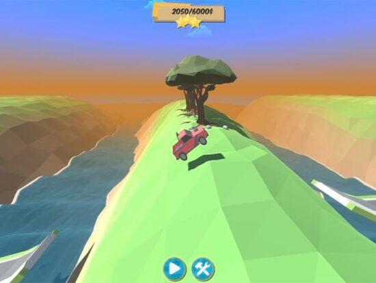 تحميل لعبة سيارات بحجم صغير للكمبيوتر Bridge Builder Racer
