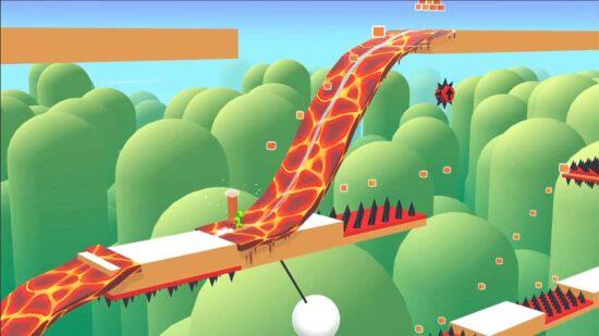لعبة التسلق والمغامرات الرائعة Freeze Rider 2