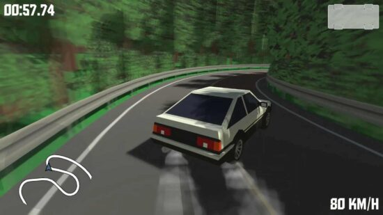 تحميل لعبة سباق سيارات للكمبيوتر الضعيف Initial Drift