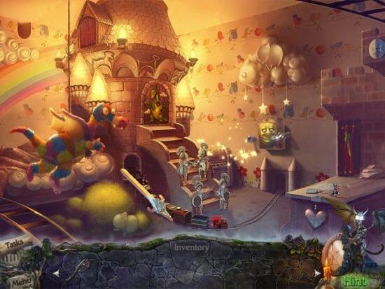 لعبة حل الجريمة الغامضة Mystery Castle
