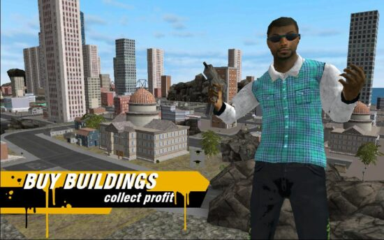 لعبة الجريمة في المدينة Real Gangster Crime 2