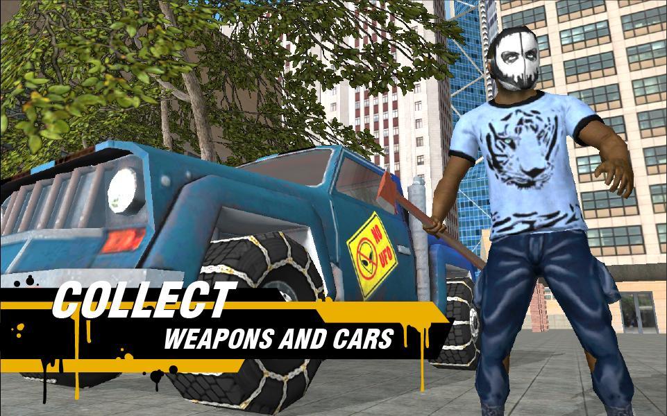 لعبة الجريمة في المدينة Real Gangster Crime