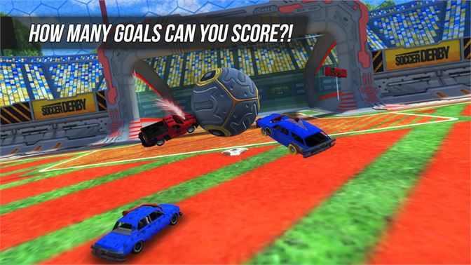 لعبة كرة قدم سيارات Rocket Soccer Derby Free
