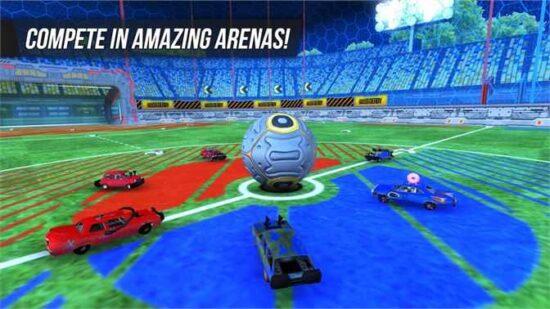 لعبة كرة قدم سيارات Rocket Soccer Derby Free 2