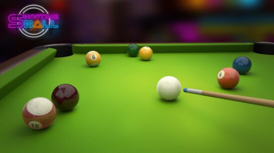 افضل لعبة بلياردو للاندرويد Shooting Ball 2