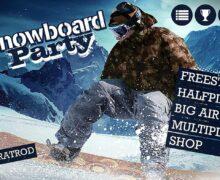 لعبة التزلج على الجليد Snowboard Party Lite