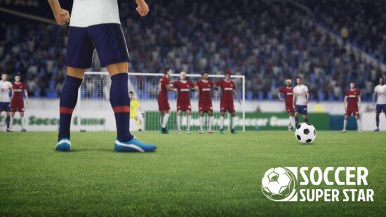 تحميل لعبة كرة القدم للموبايل Soccer Super Star