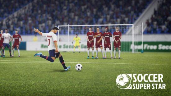 تحميل لعبة كرة القدم للموبايل Soccer Super Star 2