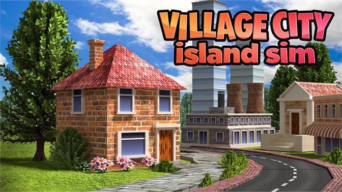 تحميل لعبة بناء المدينة للكمبيوتر بحجم صغير Village City Island