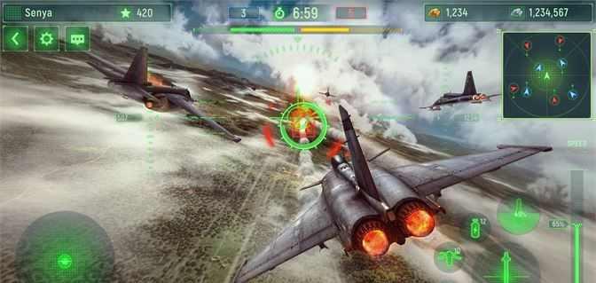 لعبة حرب الطائرات للكمبيوتر مجانا Wings of War