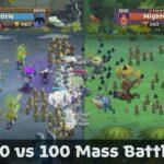 لعبة استراتيجية للاندرويد Battle Legion - Mass Battler