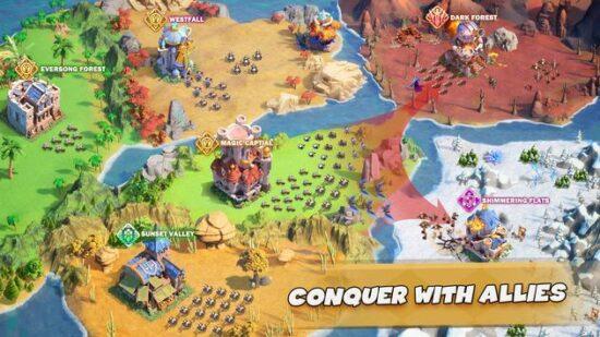 تحميل لعبة حرب البقاء على قيد الحياة للاندرويد Call Of Magic 2