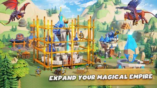 تحميل لعبة حرب البقاء على قيد الحياة للاندرويد Call Of Magic
