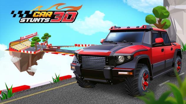 لعبة سباق سيارات بدون نت Car Stunts 3D Free - Extreme City GT Racing
