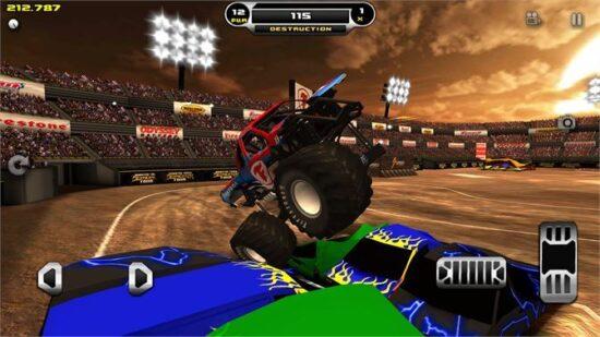 اقوى لعبة الشاحنات للكمبيوتر Monster Truck Destruction 2