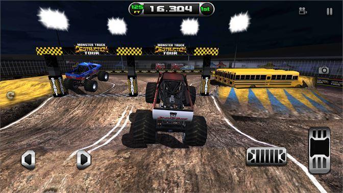 اقوى لعبة الشاحنات للكمبيوتر Monster Truck Destruction