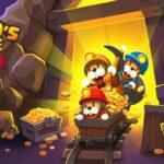 لعبة منجم الذهب للاندرويد Popos Mine - Idle Mineral Tycoon