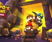 لعبة منجم الذهب للاندرويد Popos Mine – Idle Mineral Tycoon