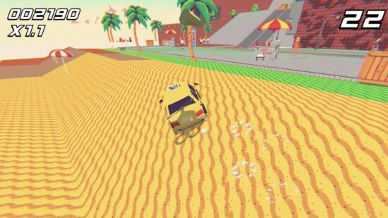 لعبة سيارة الاجرة الصفراء Psycho Taxi - Rewind 2